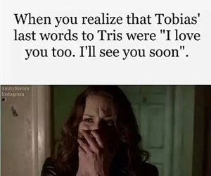 divergent, last words, and tobias image