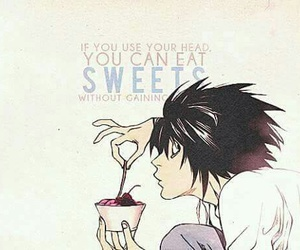 death note, L, and lawliet image