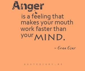 quote, anger, and mind image
