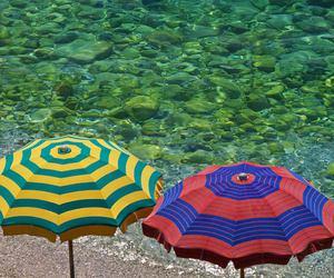 beach, capri, and hotel image