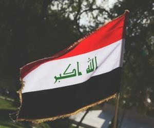 iraq and flag image