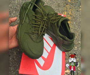 army green and huaraches image