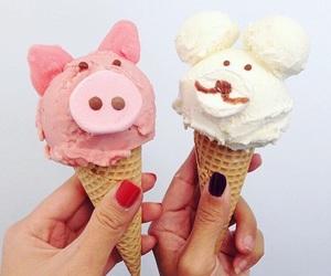 food, icecream, and sweet image
