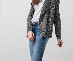 boyfriend jeans, jeans, and outfits image