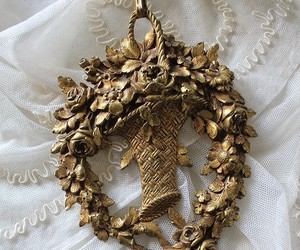 delicate, detail, and gold image