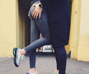 couple, nike, and air max 95 image