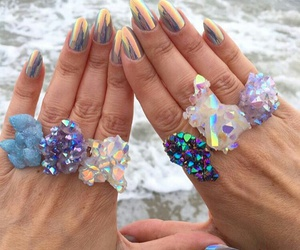 crystal, girl, and nails image
