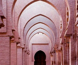 pink, architecture, and pastel image
