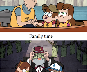family and gravity falls image