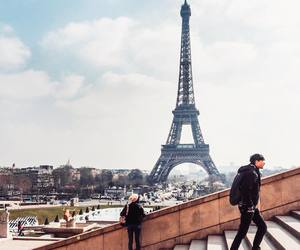city, eiffel tower, and escape image