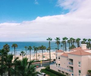california, oceanside, and beach image