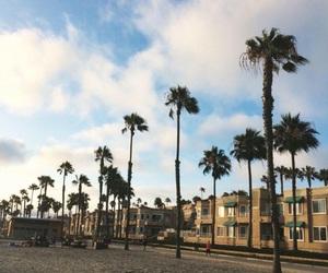 beach, california, and oceanside image