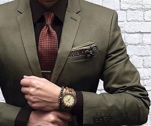 boy, fashion, and green image