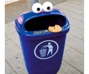 cookie monster, cookie, and funny image