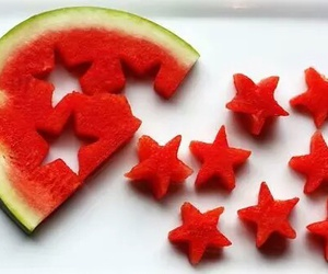 stars and watermelon image