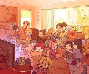 naruto, anime, and gaara image