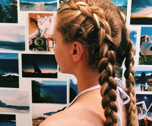 braid, fashion, and style image