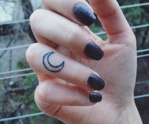 girl tattoo, happiness, and minimalist image