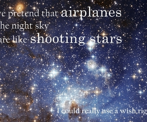 airplanes, shooting stars, and acbjs image