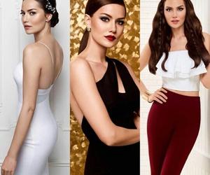 beauty, fahriye evcen, and türkish image