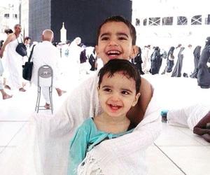 children, muslim, and makkah image