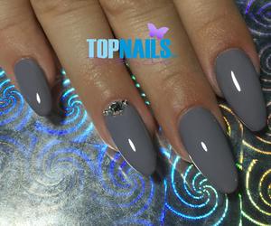 nails, acrylic nails, and nails polish image