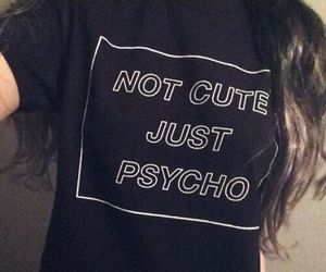 grunge, cute, and Psycho image
