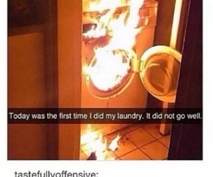 funny, lol, and laundry image