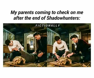 shadowhunters and funny image