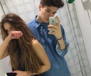 couple, boy, and goals image