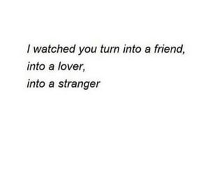 stranger, friends, and lovers image