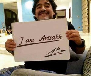 Maradona, i'm artsakh, and we are artsakh image