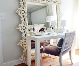 mirror, home, and room image