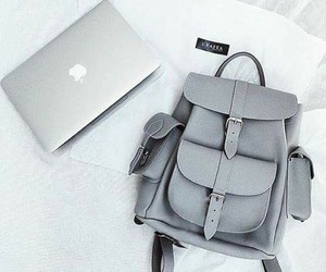 backpack, grafea, and grey image