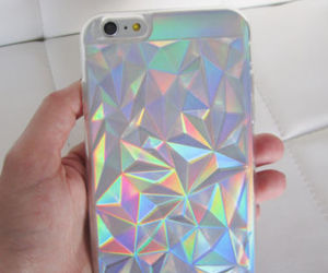 holographic, case, and iphone image