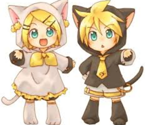 vocaloid, cat, and kawaii image