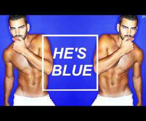 aesthetic, nyle dimarco, and blue image