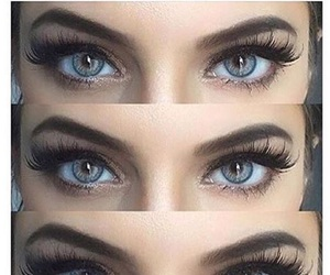 eyebrows, goals, and lashes image