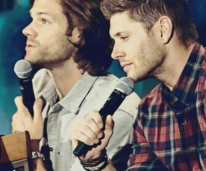 supernatural, Jensen Ackles, and jared padalecki image