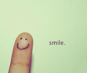 finger, life, and smile image