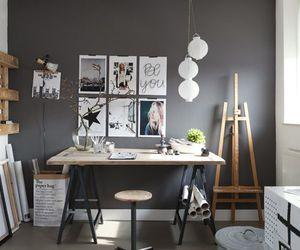 art, room, and artist image