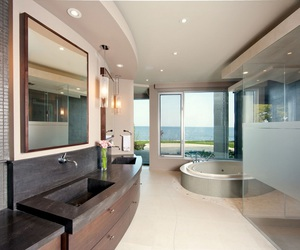 house, bathroom, and luxury image