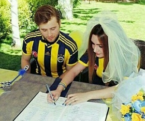 fenerbahce, ask, and lacivert image