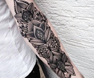 arm, flower, and full image
