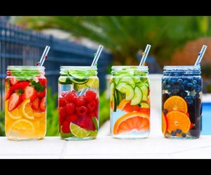 fruit, healthy, and drink image