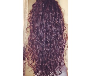 beautiful, curly hair, and girl image