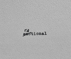 rational, frases, and emotional image