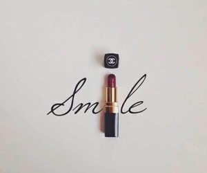 smile, chanel, and red image