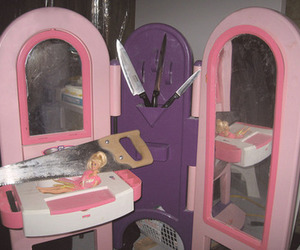 barbie, pink, and grunge image