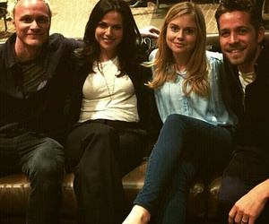 sean maguire, lana parrilla, and cast image